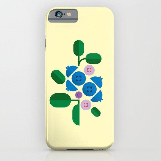 Fruit: Blueberry iPhone & iPod Case