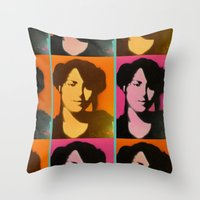 tyoo SUGOI ne! Throw Pillow