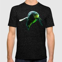 Dive 2 Mens Fitted Tee Tri-Black SMALL