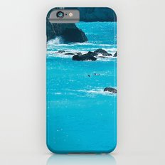 Blue Paradise, seascape photography. Mediterranean blue sea, summer vacations Slim Case iPhone 6s
