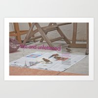 Free And Unfettered  Art Print