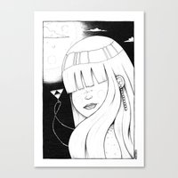 Legend of Awesome Canvas Print