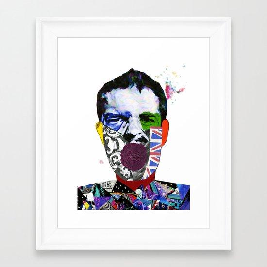Mr Brandon Flowers, Hey Hot Stuff! Framed Art Print