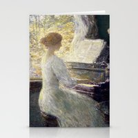 Childe Hassam - The Sonata Stationery Cards