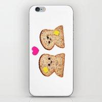 Toasty Love iPhone & iPod Skin