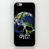 Skull Earth iPhone & iPod Skin