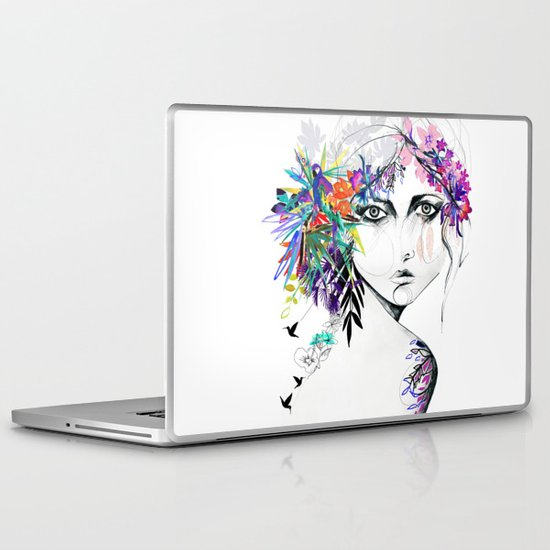 Exotic Girl Laptop & iPad Skin