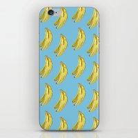 Banana Watercolor iPhone & iPod Skin