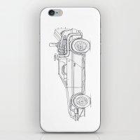 Great Scott! It's a DeLorean! iPhone & iPod Skin