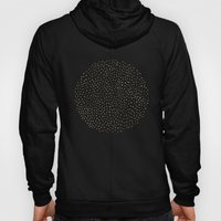 Dotted Gold & Pink Hoody