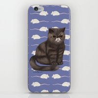 Cranky Cat / Shitty Kitty iPhone & iPod Skin