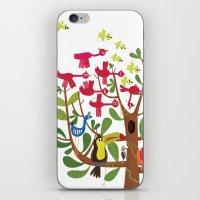 summer tree iPhone & iPod Skin
