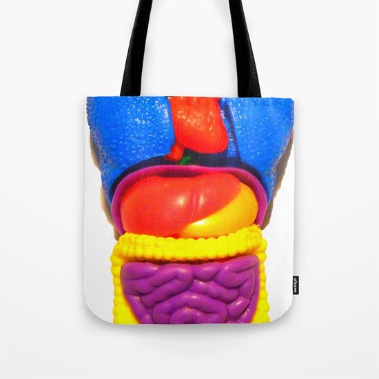 """PLASTIC ANATOMY"" ...shirt/ iphone case Tote Bag"