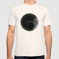 Ubiquity Mens Fitted Tee Natural SMALL