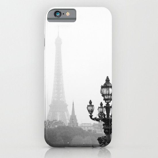 Veiled Eiffel Tower iPhone & iPod Case