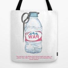 water bottle grenade  Tote Bag