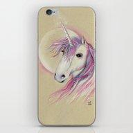 Unicorn Moon iPhone & iPod Skin