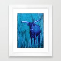 Texas Life Framed Art Print