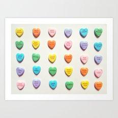 Love Books Art Print