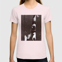 Through Thick & Thin Womens Fitted Tee Light Pink SMALL