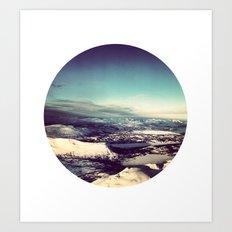 Telescope 4 arctic Art Print