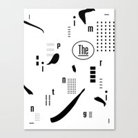 The Imprinting Canvas Print