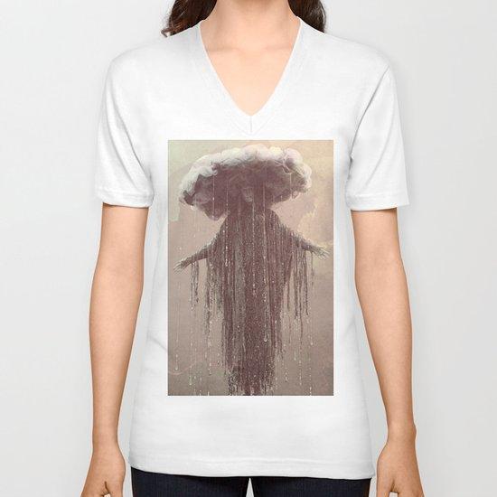 storm lady V-neck T-shirt