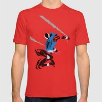 Spider-Man - Scarlet Spider Mens Fitted Tee Red SMALL