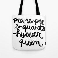 Quem Tote Bag