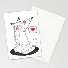 I love you. Stationery Cards