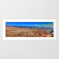 The Dead Sea Series #2  Art Print