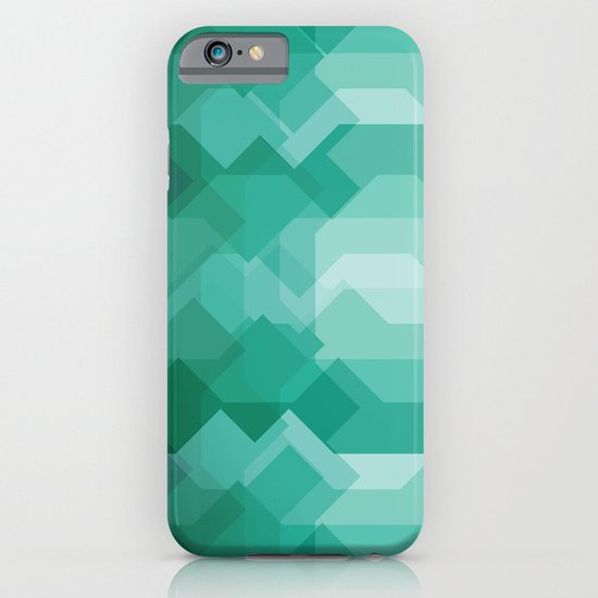 Emerald gem stone iPhone & iPod Case