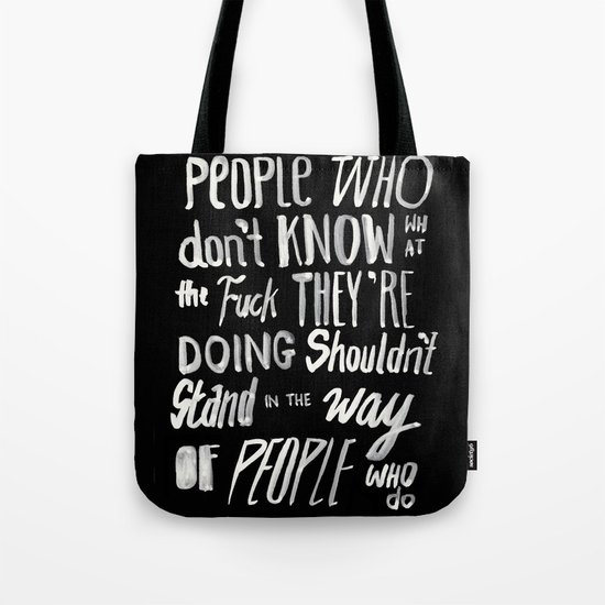 PEOPLE Tote Bag