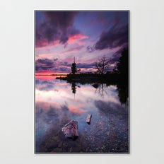 Pebble Island Canvas Print