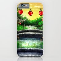 iPhone & iPod Case featuring A Bridge Over Placid Waters by Punksthetic