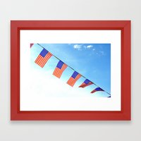 Blowin' In the wind Framed Art Print