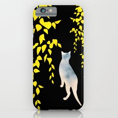 Japanese Cats Series - Yellow Leaves iPhone 6 Slim Case