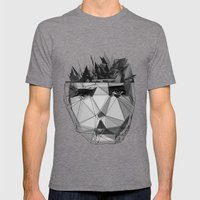 No Surprises Mens Fitted Tee Tri-Grey SMALL