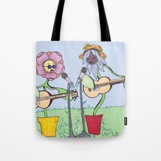 Woodstock Garden Tote Bag