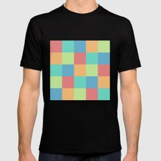 Pixels Mens Fitted Tee SMALL Black