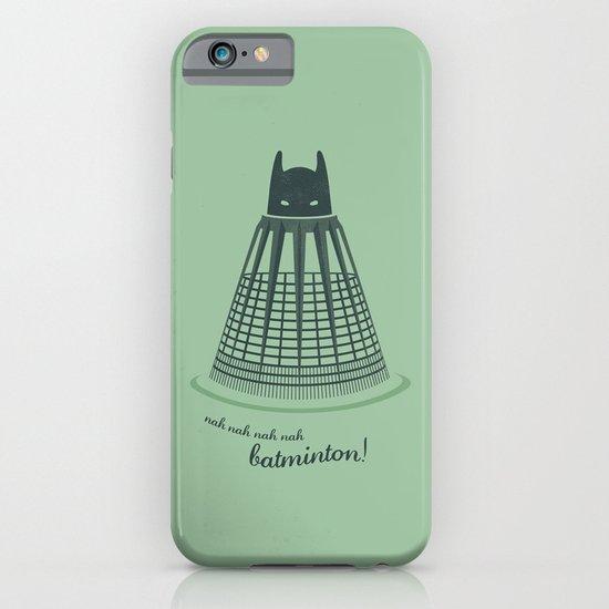 Batminton iPhone & iPod Case