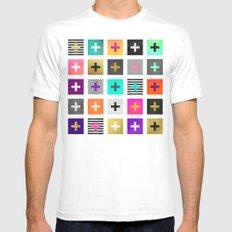 Plus Mens Fitted Tee White SMALL