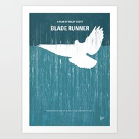No011 My Blade Runner Mi… Art Print