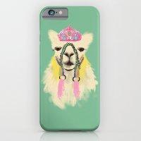 Llama drama queen iPhone 6 Slim Case