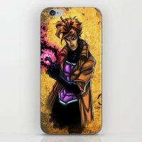 Gambit iPhone & iPod Skin