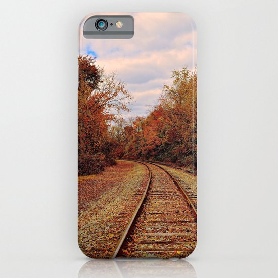 Fall on the Tracks iPhone & iPod Case