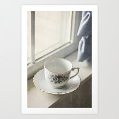 Momma's Fine China Art Print