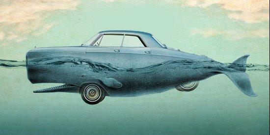 the Buick of the sea Art Print