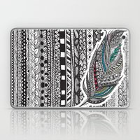 Aztec Feather. Laptop & iPad Skin
