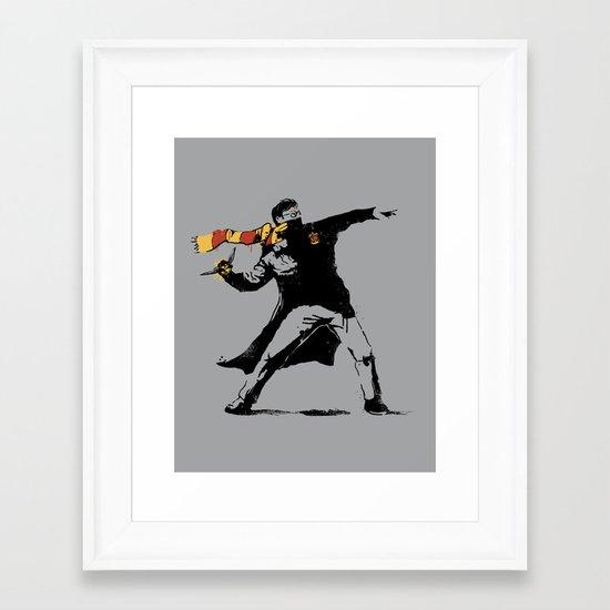 The Snatcher Framed Art Print